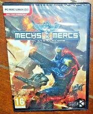 Mechs & Mercs: Black Talons (PC/MAC/LINUX/DVD, 2014) Free Shipping!