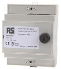 RS PRO 24VA DIN Rail Transformateur, 230V AC primaire 1 x , 12V AC secondaire