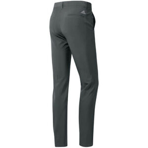 adidas Mens Ultimate365 Stretch Tapered Peformance Golf Trousers (Grey Five)