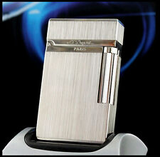 NEW S.T Memorial Silver color brushed lighter Bright Sound ! free shipping