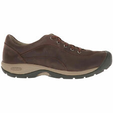 Keen Presidio II Leather Casual Lace-Up Outdoor Trekking Flats Womens Shoes  Uk3