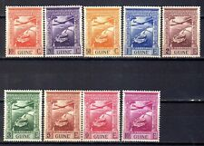 Portuguese Guinea Air Mail C1-C9 (1938) Colonial Empire full set OG MNH**
