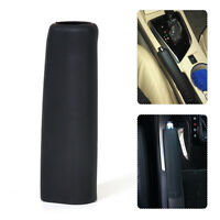 Black Anti Slip Silicone Car Accessory Decoration Leather Hand Brake Cover