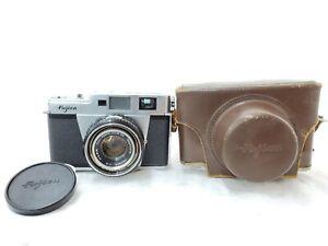 【As-is】Fujica 35 ML w/ Fujinon 4.5cm 45mm f2 from JAPAN
