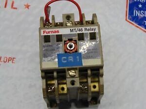 Furnas 46MT40F Control Relay 600V 10A 75MT46CF 120 COIL FREE SHIPPING