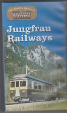 Jungfrau Railways (VHS) Railway Video Tape ~ The Worlds Greatest Train Rides