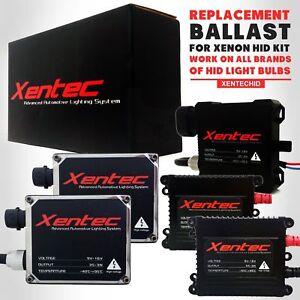 Two Xentec Xenon HID Kit Replacement Ballast 35W 55W for Nissan 350Z 370Z Altima