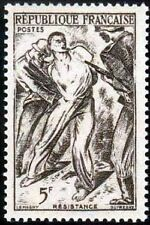 """FRANCE TIMBRE STAMP N°790 """"RESISTANCE, 5F"""" NEUF X TB"""