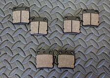 NEW front & rear brake pads Yamaha Banshee 1990-2006 or Raptor 660 2001-2005