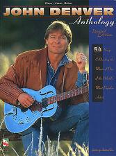 The John Denver Anthology Piano Guitar Music Book PVG