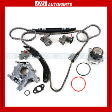 Timing Chain Water Oil Pump Kit For 02+ Nissan Infiniti 3.5L DOHC VQ35DE Altima