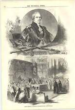 1846 The Lord Mayor Sir George Caroll Ancient Ceremony Swearing In