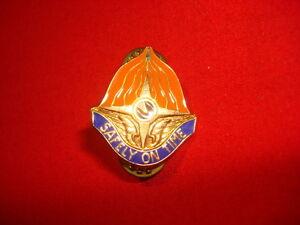 Metal Pin US 109th AVIATION BATTALION Distinctive Insignia, Made By DENMARK NY