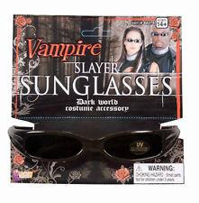 Vampire Slayer Sunglasses Gothic Blade Fancy Dress Halloween Costume Accessory