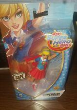 "DC Super Hero Girls SUPERGIRL 6"" Figure NEW 2016 IN HAND VHTF Mattel DC Comic"