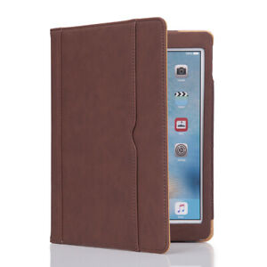 """2019 Apple iPad Case 7th Generation 10.2"""" Soft Leather Smart Cover Wallet Folio"""