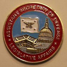 Assistant Secretary of Defense Legislative Affairs DoD Challenge Coin