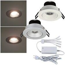 3er 4er 5er Set LED Decken-Einbau-Leuchten EKK: A 230V Leuchte Lampe schwenkbar