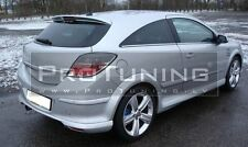OPEL VAUXHALL ASTRA H 04-09 MK5 GTC rear roof spoiler trunk lip 3 Doors OPC look