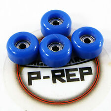 Peoples Republic- CNC Lathed Bearing Wheels for wooden fingerboard  - Dark Blue