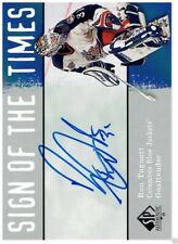 RON TUGNUTT 2000-01 SP AUTHENTIC SIGN OF THE TIMES #RT