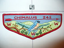 OA Chimalus Lodge 242,F-2, 1960s Bluebird Flap,57,67,275,540,Washington Green,PA