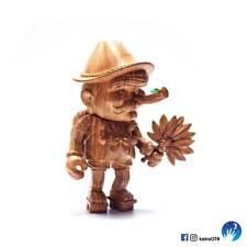 Usotengu Tengu Wooden Keira on the Roof Pinocchio Toy Sofubi vinyl sofvi