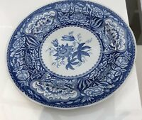 THE SPODE BLUE ROOM COLLECTION 'FLORAL' PLATE FIRST INTRODUCED C1830