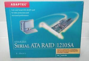 ADAPTEC SERIAL ATA RAID 1210SA KIT PCI CARD 2015000-R