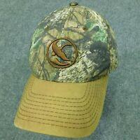GANDER MOUNTAIN Cap Duck Logo Camo Baseball Hat Outdoor Adjustable Strapback