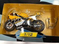 1:12 Yamaha YZR-M1 Valentino Rossi 2005 USA Grand Pri Ixo Salvat Diecast Moto GP