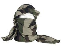 Chèche coton camouflage C/E état neuf / foulard écharpe camo centre europe armée