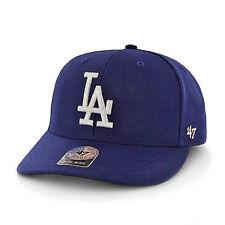 LOS ANGELES LA DODGERS CAP HAT 47 BRAND BULLPEN MVP ROYAL BLUE ADJUSTABLE MLB