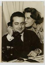 Monsieur Guy Vaschetti et son épouse (Avocat plus jeune député de la Vème Républ
