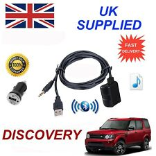 For Land Rover Bluetooth Music Streaming Module includes power adapter USB & AUX