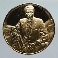 UNITED STATES Richard Nixon OFFICIAL PRESIDENTIAL PORTRAIT Old Medal i91359