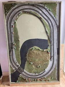 oo gauge model railway track layouts