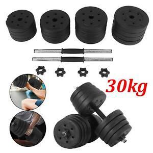 Kurzhanteln Set 30kg Kurzhantel Krafttraining Hantelset Gewichte Hantelscheiben