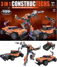 Remote Control Model Building Kit RC Truck Bulldozer Robot LEGOS COMPATIBLE New!