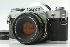[ EXC+++++ ] Canon AE-1 AE1 35mm SLR Camera w/ FD 50mm f1.8 S.C. Lens from JAPAN