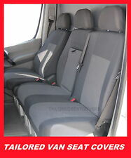 Tailored seat covers  for Mercedes Sprinter 2006 - onwards  2 + 1 grey1