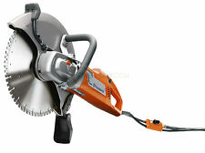 "Husqvarna K3000 électrique disc cutter scie 350mm 14"" 110v wet cut"