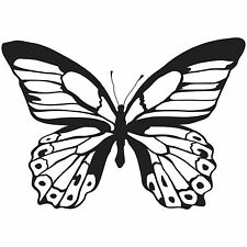 Majestic Butterfly Clear Unmounted Rubber Stamp Kaisercraft Mixed Media Art NEW