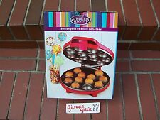 *(BRAND-NEW)* Nostalgia Electrics Red 12 Holes Delicious Cake Pop Maker