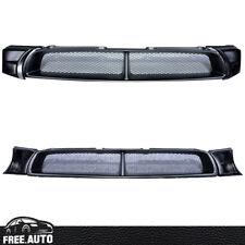 For 2002-2003 Subaru Impreza Sti Wrx Mesh Front Hood Grill Grille Black