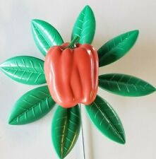 New listing New Vintage 1995 Artline Pepper Garden Flower Pinwheel Wind Spinner whirlygig