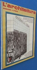 L'ARCHITETTURA CRONACHE E STORIA DESIGN ARREDAMENTO 1979 N°281 - Foto Sommario -
