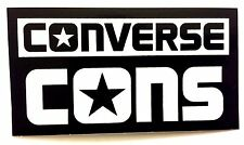 Converse Cons Skateboard Sticker Shoes Decal Logo CTS Chuck Taylor Star Skate