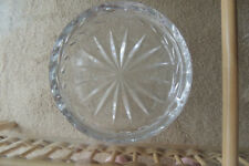"""Crystal Astray  Hungarian ~ Large  6.1/4 """" Pipe Cigar Cigarette Ashtray heavy"""