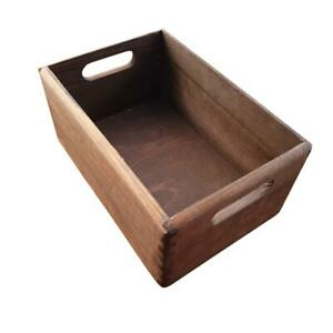 Wooden Serving Tray or Box  30cmx20cmx13cm in Brown Color
